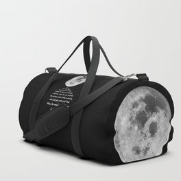 Moon Bridge Shakespeare Duffle Bag