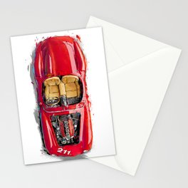Rosso Corsa Stationery Cards