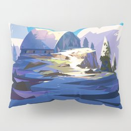 Blue Mountain Pillow Sham