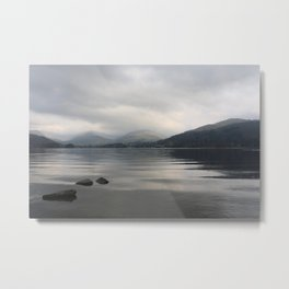 Windermere from Low Wray - the Lake District, England Metal Print