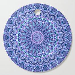 Purple Passion - Mandala Art Cutting Board