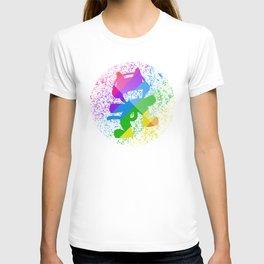 Rainbow MonsterCat T-shirt