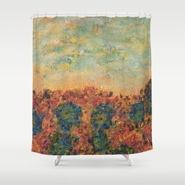 Flowers of Provence Shower Curtain