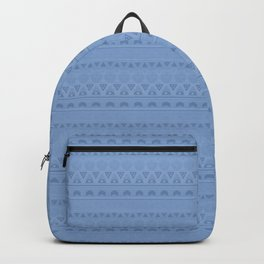 Blue ornament Backpack