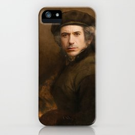 Robert Downey Rembrandt iPhone Case