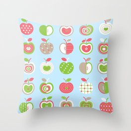Applelicious Throw Pillow