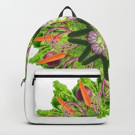 veggies mandala Backpack