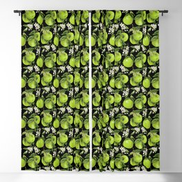 Blooming pomelo with fruits Blackout Curtain