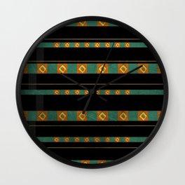Moche II Wall Clock