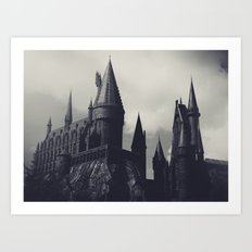 Ominous Castle Art Print