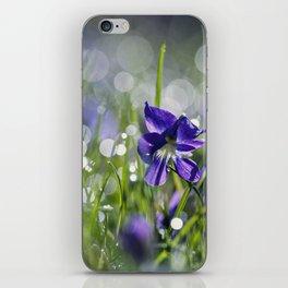 violet morning iPhone Skin