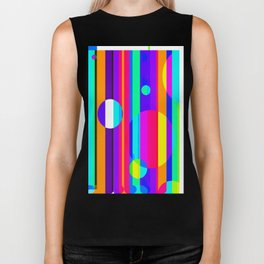 Re-Created Intersection IV by Robert S. Lee Biker Tank