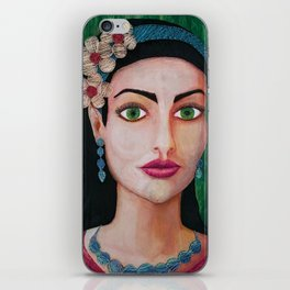 """""""Portrait of a unknown woman"""" iPhone Skin"""