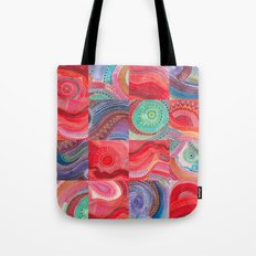 repetitive moments in air Tote Bag