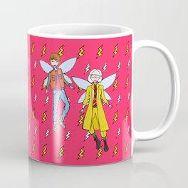 Doc and Marty McFly Go Back to The Future Coffee Mug