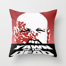 yawn of the dead Throw Pillow