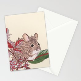 Field Mouse Stationery Cards