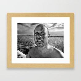 Words 4 Framed Art Print