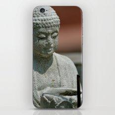 Prayer for Buddha iPhone & iPod Skin