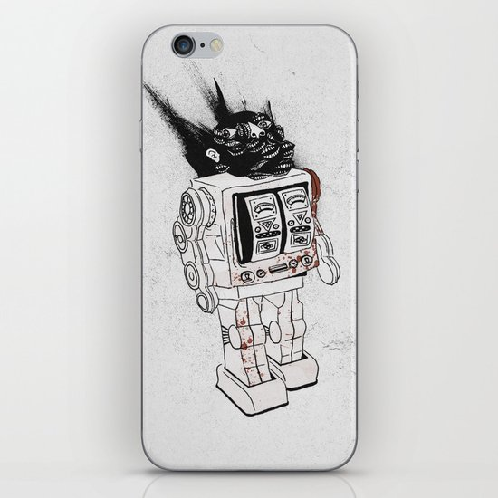 robot army iPhone & iPod Skin