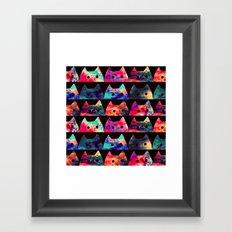 cats-304 Framed Art Print