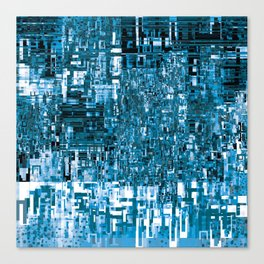 Circuitry Abstract Canvas Print