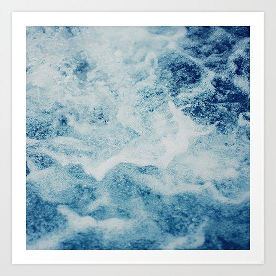 Sea Splash Art Print