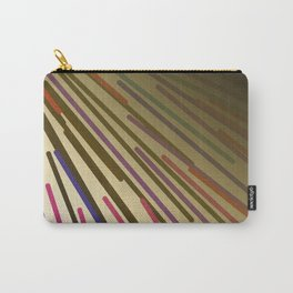 wild design lines  Rainbow edition Carry-All Pouch