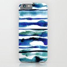 Laguna Watercolor Stripe Slim Case iPhone 6s
