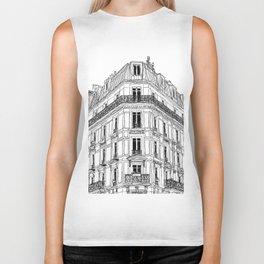 Parisian Facade Biker Tank
