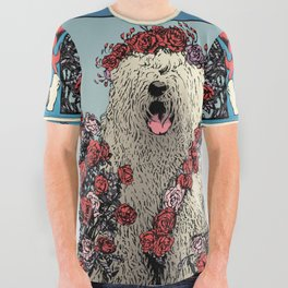 GratefulAllOver All Over Graphic Tee