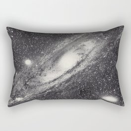 Vintage Astronomy-Nebula M31 Andromeda Rectangular Pillow