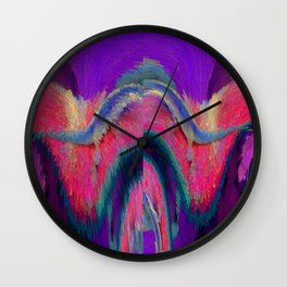 Larry The Lounge Lizard: Flashbacks Wall Clock