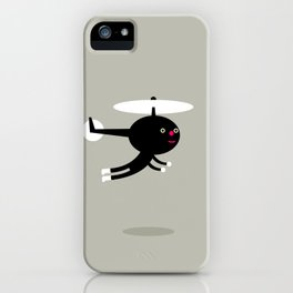 Help us helicopter iPhone Case
