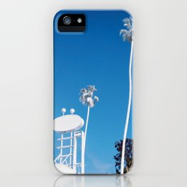White Palm iPhone Case