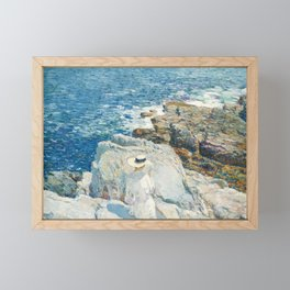 Childe Hassam - The South Ledges, Appledore, 1913 Framed Mini Art Print