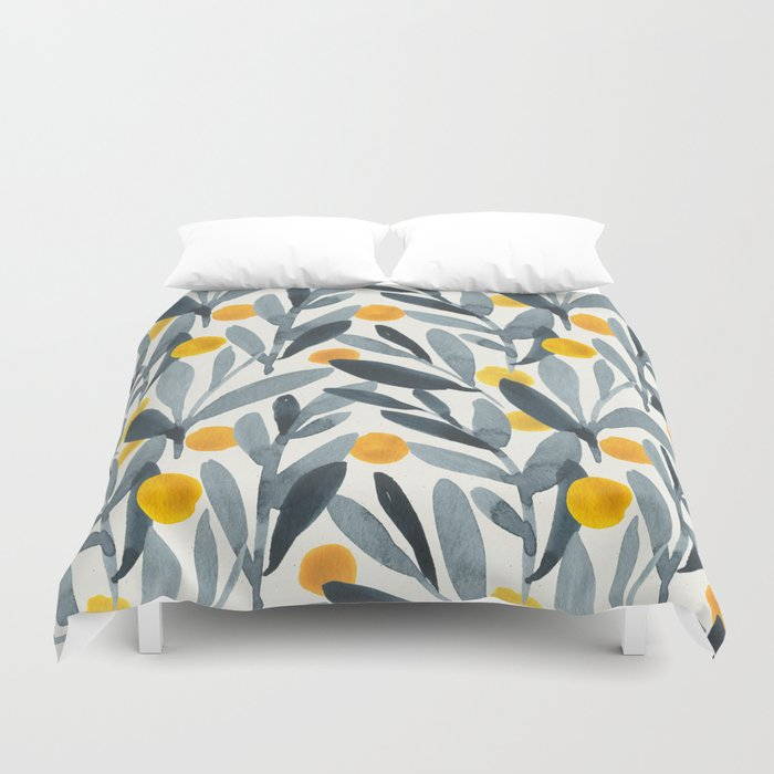 Sun dried tomatoes Duvet Cover