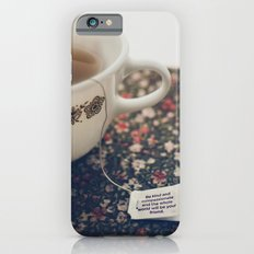 listen to your tea II iPhone 6s Slim Case