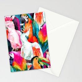 Exotic birdlife Stationery Cards