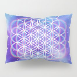 Trippy Sacred Geometry Pillow Sham