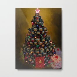 Can Tree Metal Print