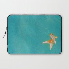 Goldfish in the ocean Laptop Sleeve