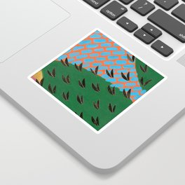 Leaves 13 (Wing Confetti) Sticker