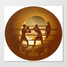 Boxing (Boxe) Canvas Print