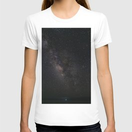 Milky Way Galaxy Wall Art   Stars Universe Space Cosmos Nebula Night Sky Photography Print T-shirt