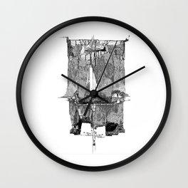 Melting Poster #1 Wall Clock