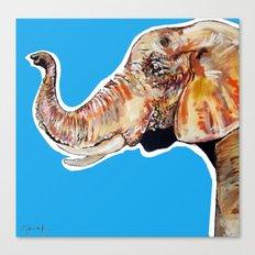 Elephan 2 Canvas Print