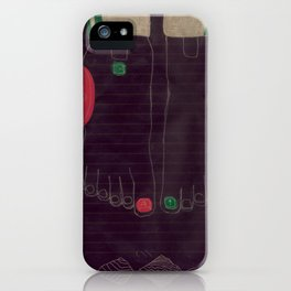 6 finger iPhone Case