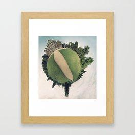 Manor Context  Framed Art Print