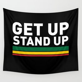 Get Up Stand Up / Rasta Vibrations Wall Tapestry